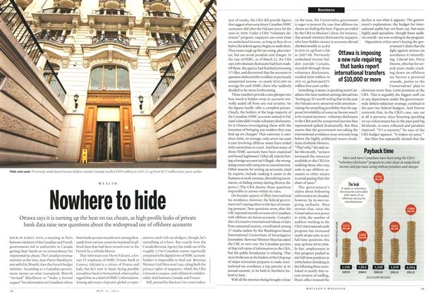 Article Preview: Nowhere to hide, May 2013 | Maclean's