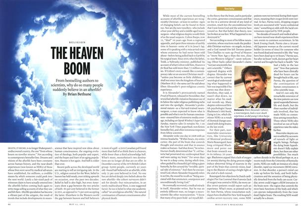 Article Preview: THE HEAVEN, May 2013 | Maclean's