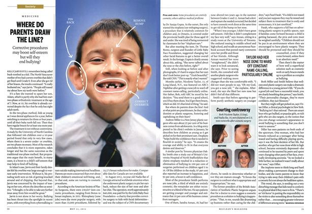 Article Preview: WHERE DO PARENTS DRAW THE LINE?, May 2013 | Maclean's