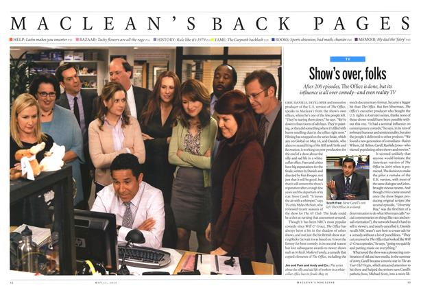 Article Preview: Show's over, folks, May 2013 | Maclean's