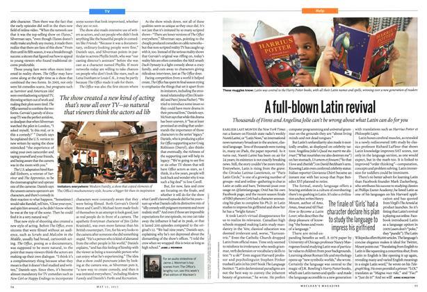 Article Preview: Afull-blown Latin revival, May 2013 | Maclean's