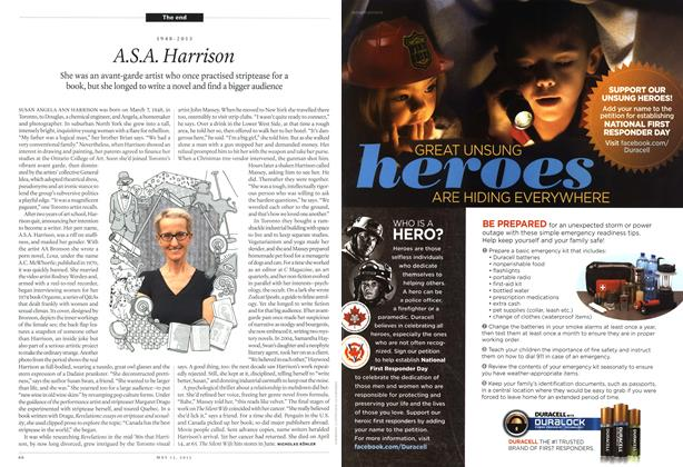 Article Preview: A S.A. Harrison, May 2013 | Maclean's