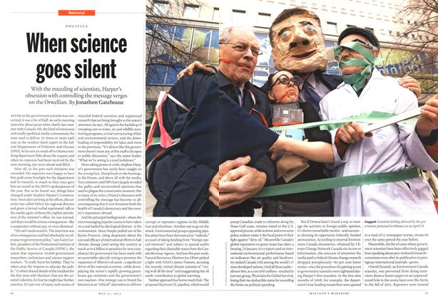 Article Preview: When science goes silent, May 2013 | Maclean's