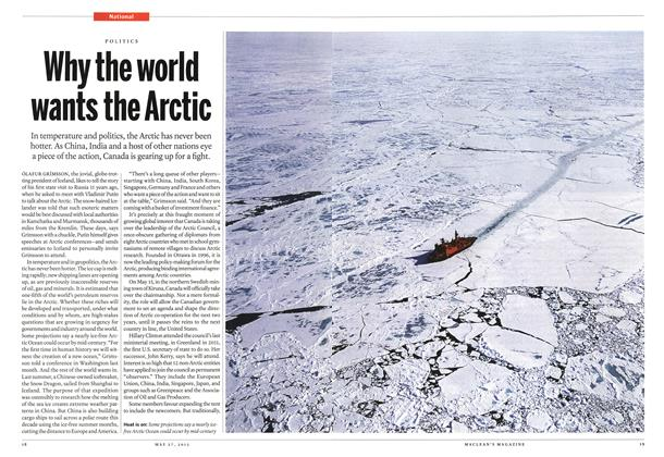 Article Preview: Why the world wants the Arctic, May 2013 | Maclean's