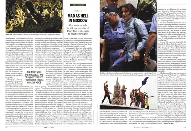 Article Preview: MAD AS HELL IN MOSCOW, May 2013 | Maclean's