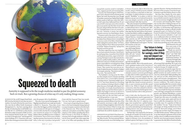 Article Preview: Squeezed to death, May 2013 | Maclean's
