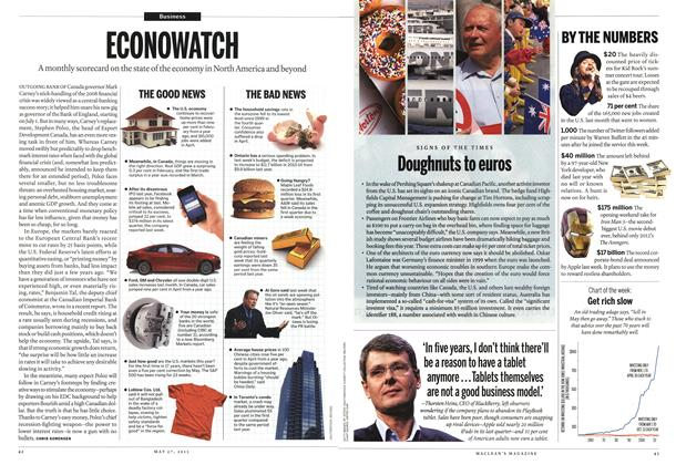 Article Preview: ECONOWATCH, May 2013 | Maclean's