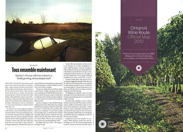 Article Preview: Tous ensemble maintenant, May 2013 | Maclean's
