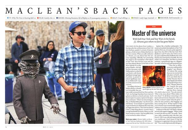 Article Preview: Master of the universe, May 2013   Maclean's