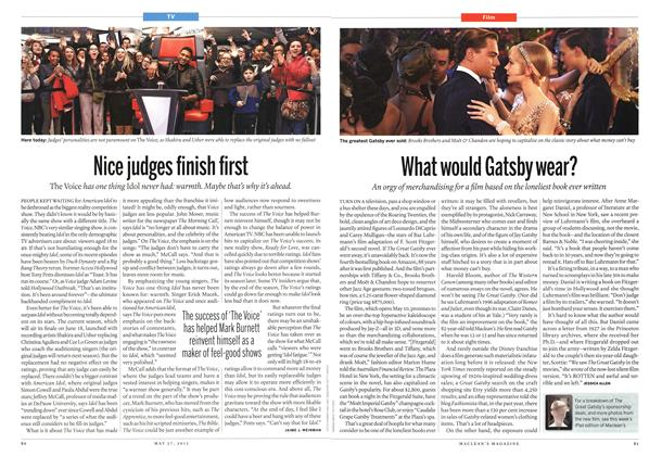 Article Preview: What would Gatsby wear?, May 2013 | Maclean's