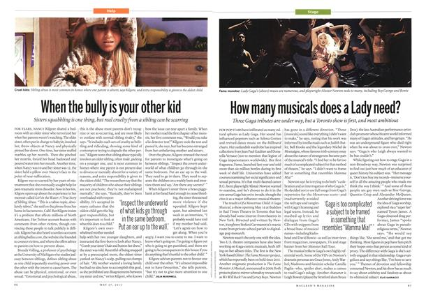 Article Preview: How many musicals does a Lady need?, May 2013 | Maclean's