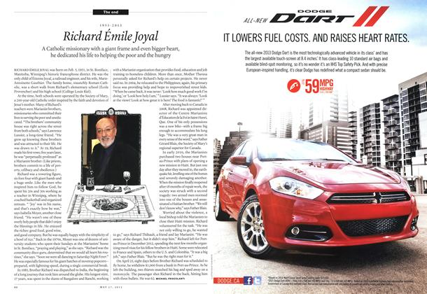 Article Preview: Richard Émile Joyal, May 2013 | Maclean's