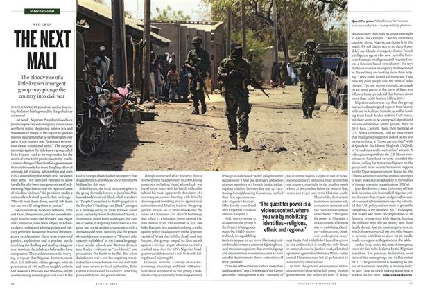 Article Preview: THE NEXT MALI, June 2013 | Maclean's