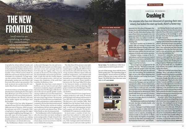 Article Preview: Crushing it, June 2013 | Maclean's