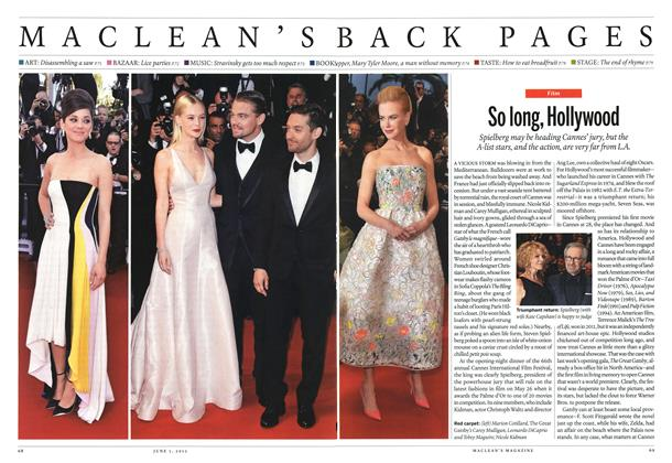 Article Preview: So long, Hollywood, June 2013   Maclean's