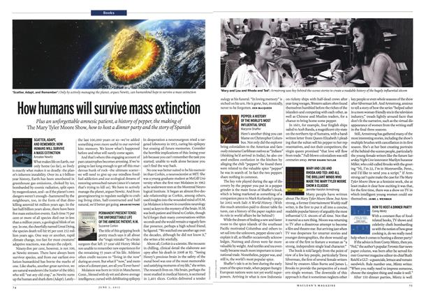 Article Preview: How humans will survive mass extinction, June 2013 | Maclean's