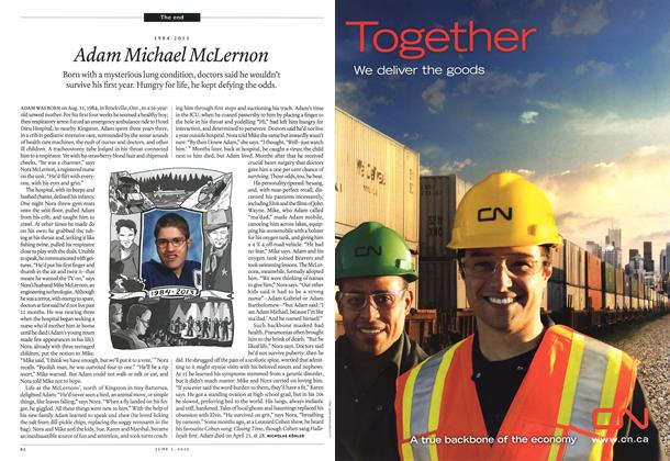 Article Preview: 1984-2013 Adam Michael McLernon, June 2013 | Maclean's