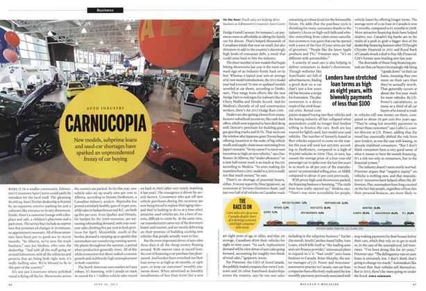 Article Preview: CARNUCOPIA, June 2013 | Maclean's