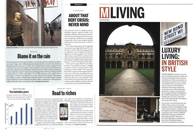 Article Preview: LUXURY LIVING:, June 2013 | Maclean's
