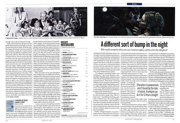 Article Preview: A different sort of bump in the night, June 2013 | Maclean's