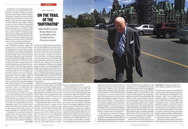 Article Preview: ON THE TRAIL OF THE 'DUFFINATOR', June 2013 | Maclean's