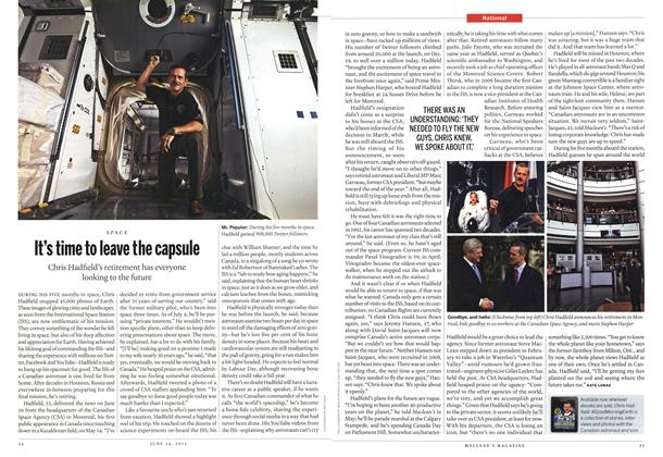 Article Preview: It's time to leave the capsule, June 2013 | Maclean's