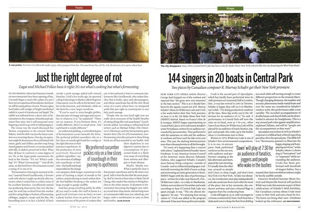 Article Preview: Just the right degree of rot, June 2013 | Maclean's