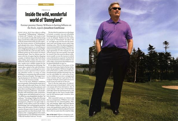 Article Preview: Inside the wild, wonderful world of 'Dannyland', July 2013 | Maclean's