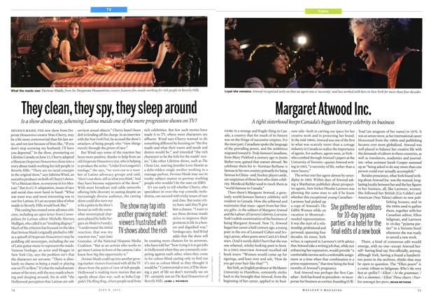 Article Preview: They clean, they spy, they sleep around, July 2013 | Maclean's