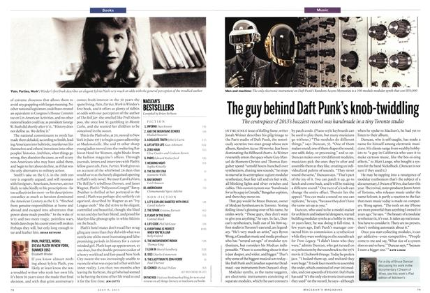Article Preview: The guy behind Daft Punk's knob-twiddling, July 2013 | Maclean's