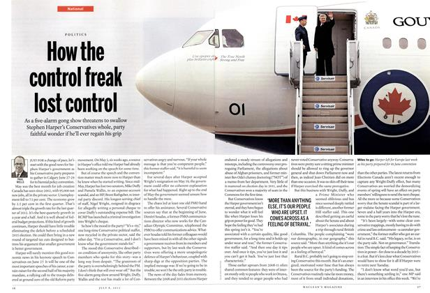 Article Preview: How the control freak lost control, July 2013 | Maclean's