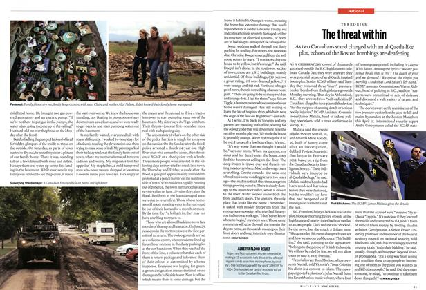 Article Preview: The threat within, July 2013 | Maclean's