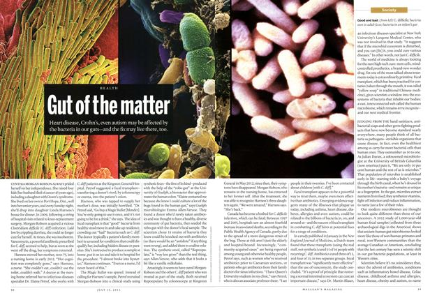 Article Preview: Gut of the matter, July 2013 | Maclean's