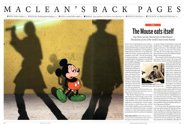 Article Preview: The Mouse eats itself, July 2013 | Maclean's
