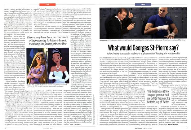 Article Preview: What would Georges St-Pierre say?, July 2013 | Maclean's