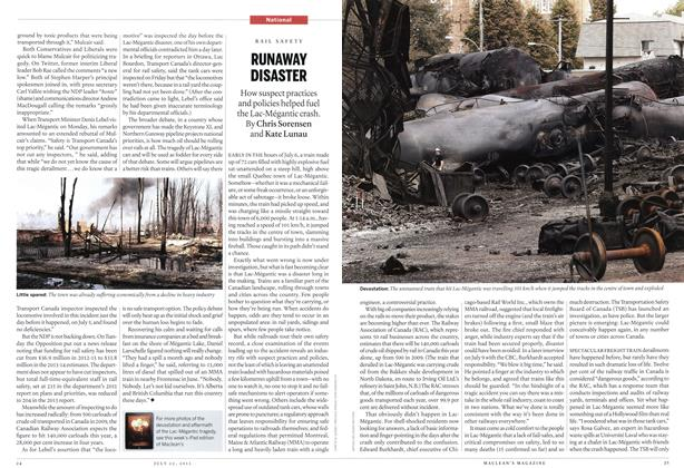 Article Preview: RUNAWAY DISASTER, July 2013 | Maclean's