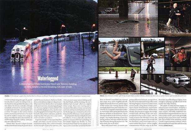 Article Preview: TORONTO Waterlogged, July 2013 | Maclean's