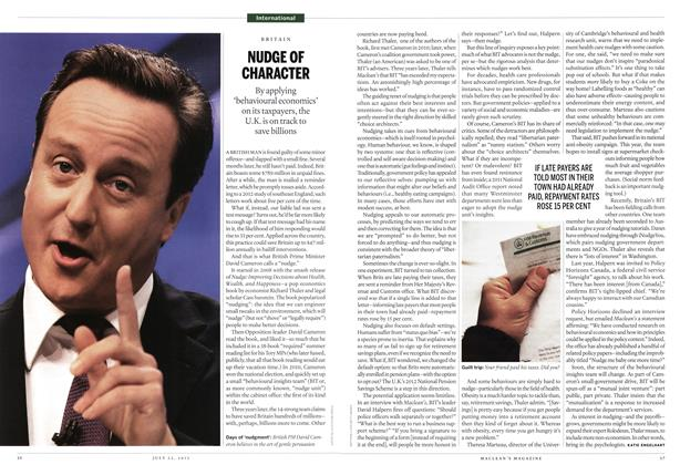 Article Preview: NUDGE OF CHARACTER, July 2013 | Maclean's