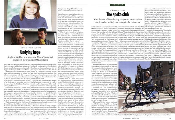 Article Preview: The spoke club, July 2013 | Maclean's