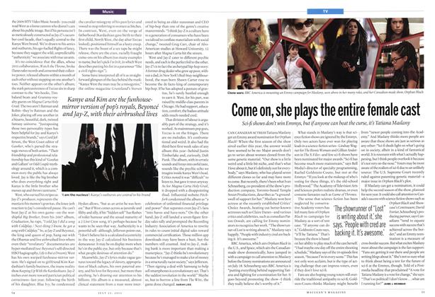 Article Preview: Come on, she plays the entire female cast, July 2013 | Maclean's