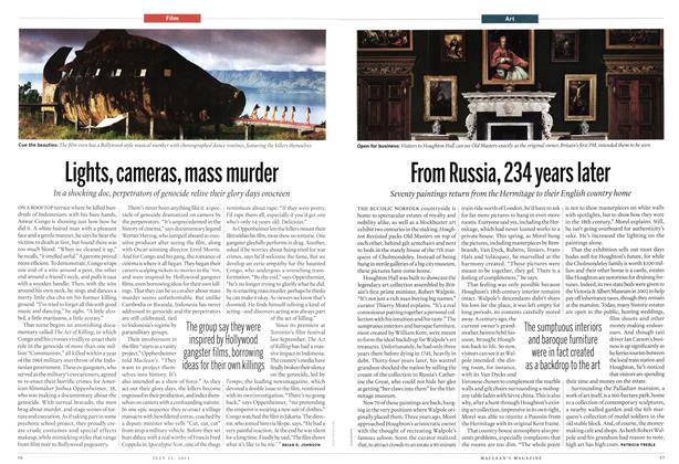 Article Preview: Lights, cameras, mass murder, July 2013 | Maclean's