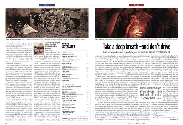 Article Preview: Take a deep breath-and don't drive, July 2013 | Maclean's