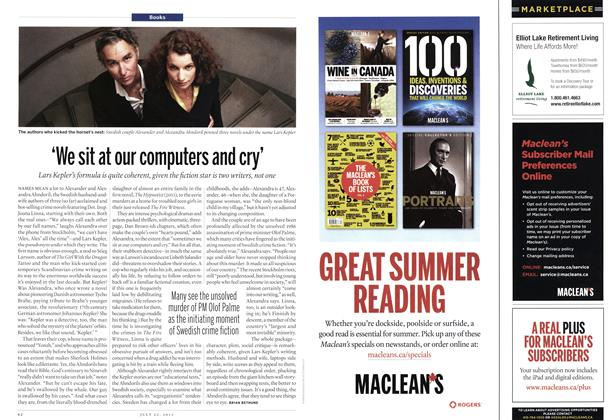 Article Preview: 'We sit at our computers and cry', July 2013 | Maclean's