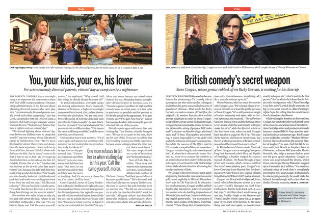 Article Preview: British comedy's secret weapon, July 2013 | Maclean's