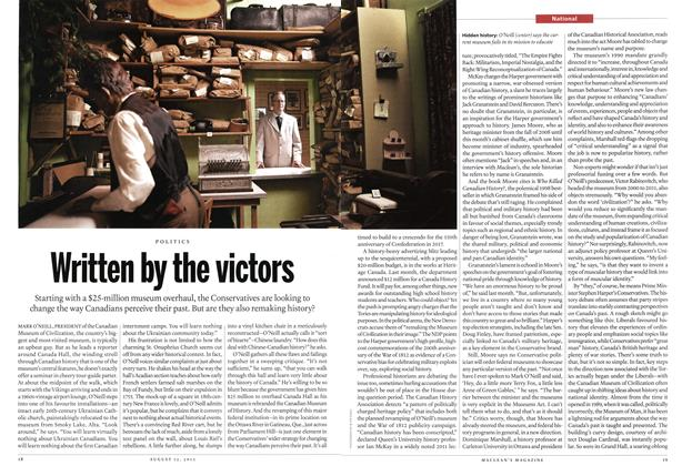 Article Preview: Written by the victors, August 2013 | Maclean's