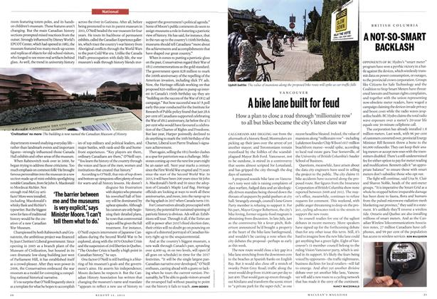 Article Preview: A bike lane built for feud, August 2013 | Maclean's