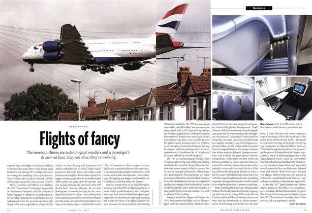 Article Preview: Flights of fancy, August 2013 | Maclean's