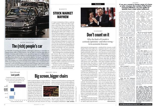 Article Preview: The (rich) people's car, August 2013 | Maclean's