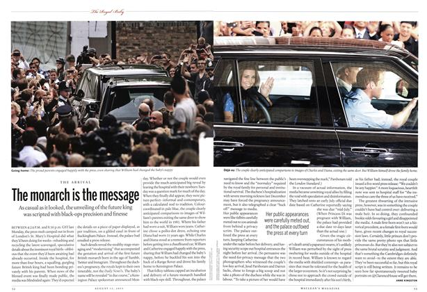Article Preview: The monarch is the message, August 2013 | Maclean's
