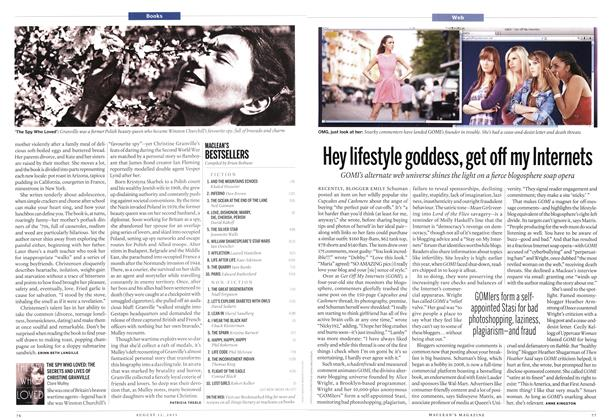 Article Preview: Hey lifestyle goddess, get off my Internets, August 2013 | Maclean's